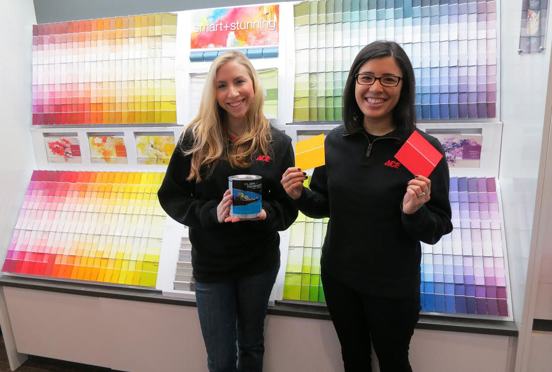 Sonya & Kristina comprise the sales team at Mission Ace Hardware & Lumber in Santa Rosa, CA.