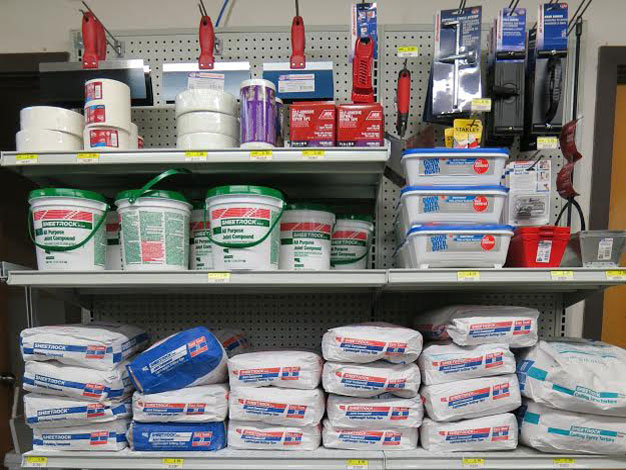 Drywall supplies are available at Mission Ace Hardware & Lumber in Santa Rosa, CA.