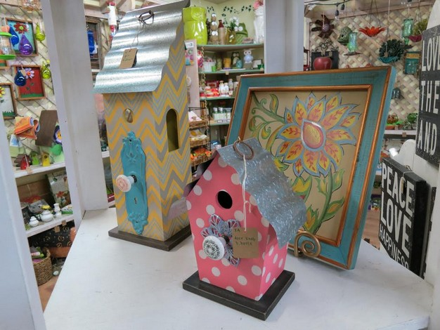 Garden loft gift items at Mission Ace Hardware & Lumber in Santa Rosa, CA.