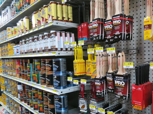 Paint supplies available at Mission Ace Hardware & Lumber in Santa Rosa, CA.