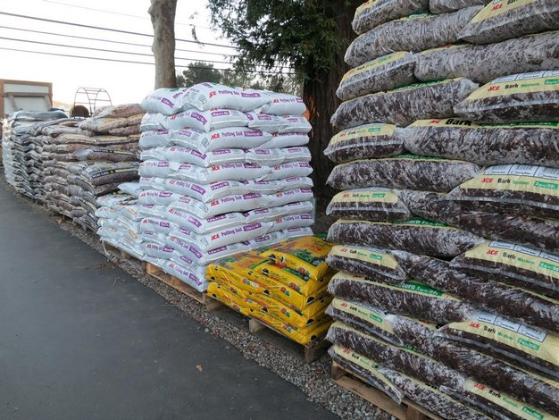 Soils and amendments are available at Mission Ace Hardware & Lumber in Santa Rosa, CA.