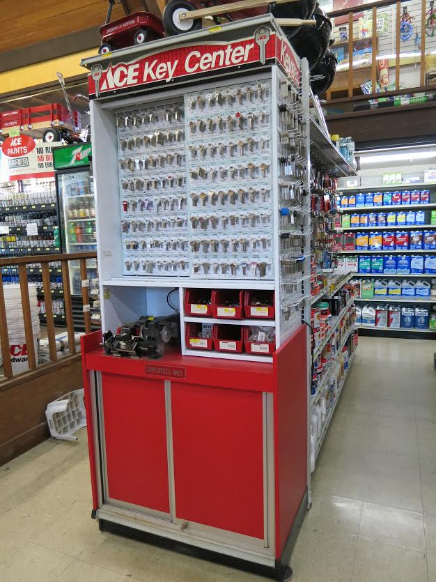 Key duplication and cutting at Mission Ace Hardware & Lumber in Santa Rosa, CA.