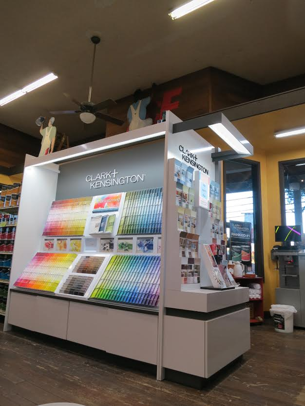 Paint matching by Mission Ace Hardware & Lumber in Santa Rosa, CA.